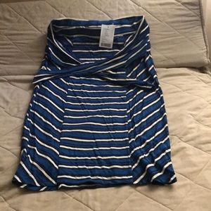 NWT Anthropologie belted pencil skirt cotton. M/L